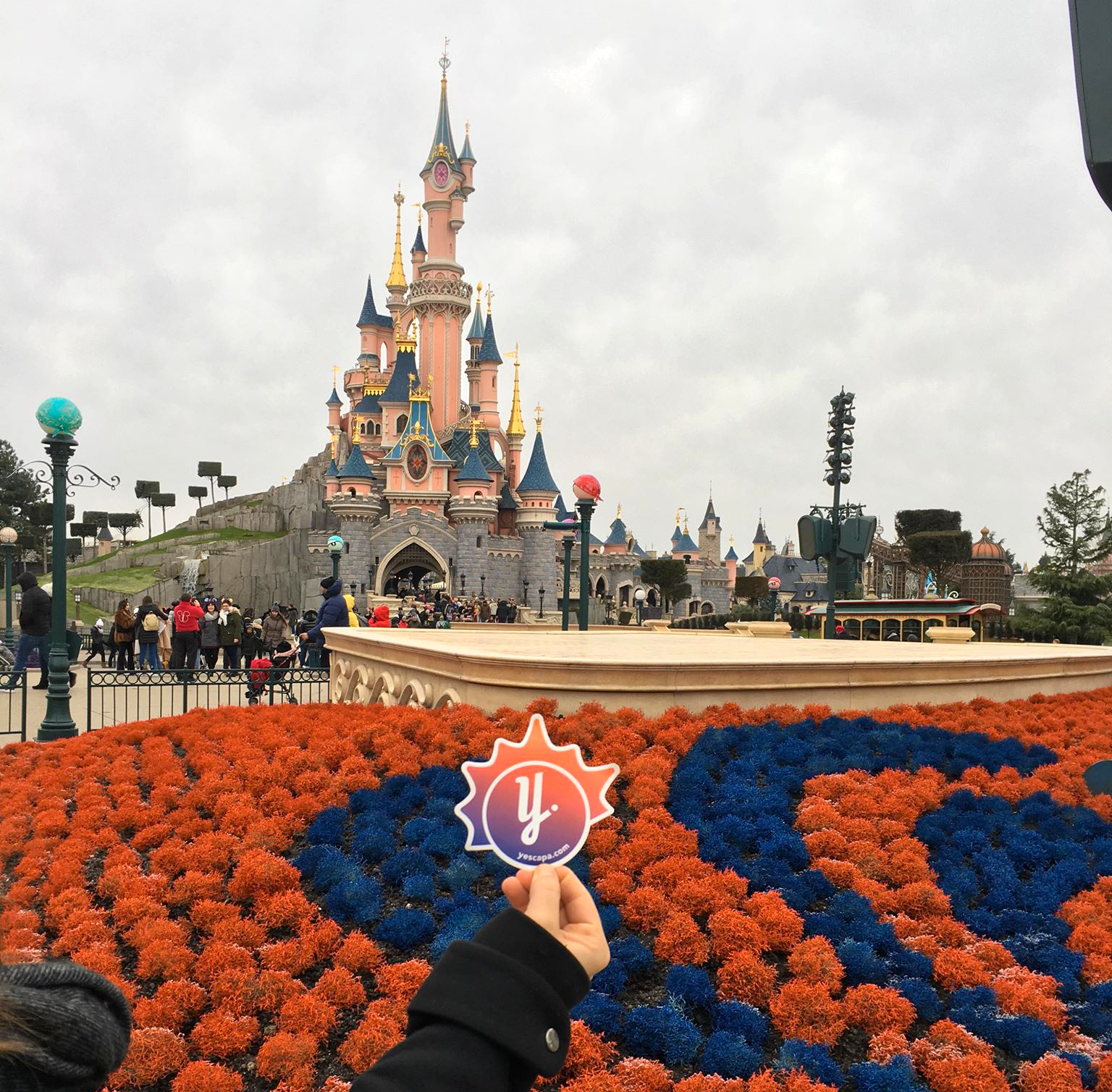 Parc Disneyland Paris en camping-car