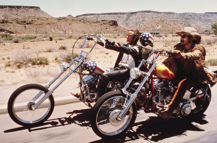 Easy rider, film road trip