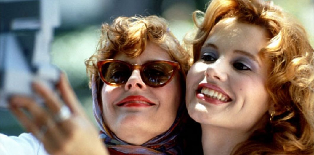 Thelma et louise, films road tri^p